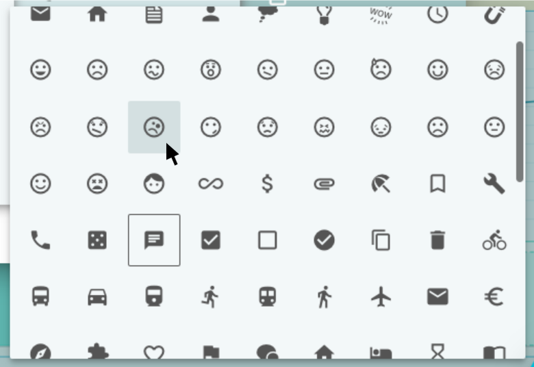 curated icons