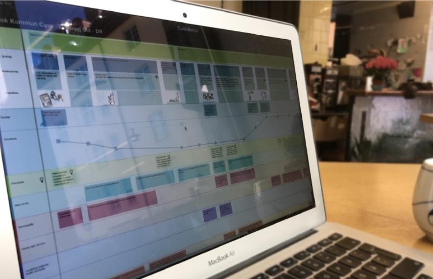 An online service map tool