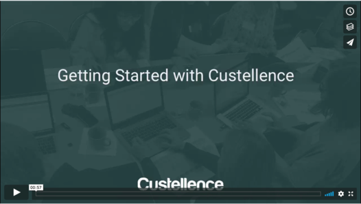 Getting Started witch Custellence